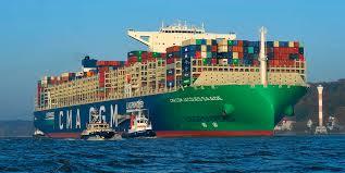"""Die blockade des suezkanals durch das containerschiff """"ever given kommt teuer zu stehen: Weltgrosstes Erdgas Containerschiff Machte In Hamburg Fest Veus Shipping Com"""
