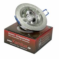 Inkl Lm Ohne Aluminium Einbaustrahler Hochwertiger Gu10