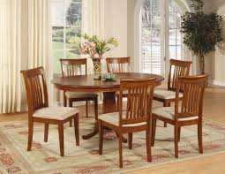 dining room tables oval. traditional dining room with 7 piece portland dinette oval table set, 6 microfiber tables t