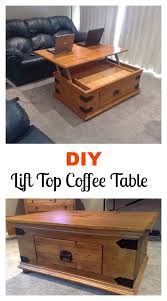 DIY Turner Lift Top Coffee Table