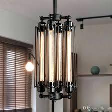 edison bulb chandelier dining room vintage pendant