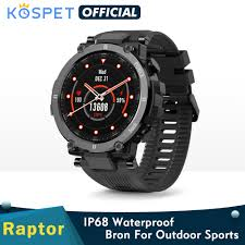 NEW <b>KOSPET Raptor Outdoor</b> Sport Watch Rugged Bluetooth Full ...