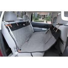 Premium SmartFit Quilted Pet Hammock Seat Cover & Solvit Premium Quilted Pet Bench Seat Cover - Gray Adamdwight.com