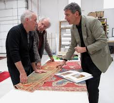 robert mann left and stefano ionescu right discussing a tuduc fake archive photo