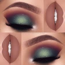 green eye makeup inspiration