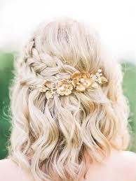 Image Coiffure De Mariage Cheveux Mi Long Avec Tresse