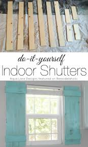 tutorial how to build indoor shutters aqua lane designs on remodelaholic com