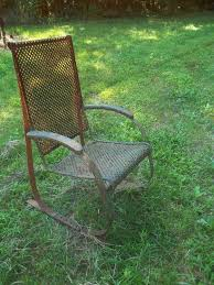 antique motel chairs. old metal glider,old gliders,vintage gliders, antique gliders motel chairs n