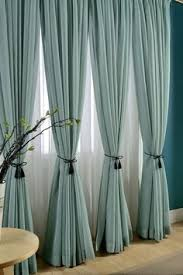 design curtains for living room. delicate light teal linen blend sheer curtain made to by tailor2u design curtains for living room