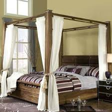 Canopy Bed King King Size Dark Wood Canopy Bed – kidspoint.info