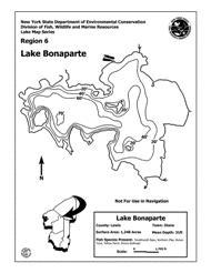 Calabogie Lake Depth Chart Lake Bonaparte Nys Dept Of Environmental Conservation