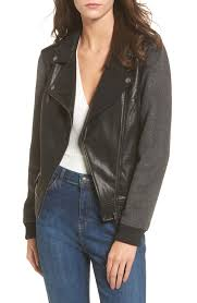 faux leather varsity moto jacket juniors clothing ddceqb