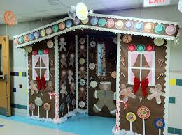 office door decorating ideas. Santa\u0027s Factory Christmas Door Office Decorating Ideas A