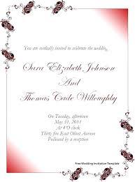 Wedding Invitations Microsoft Word Sulg Pro