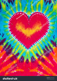 Tie Dye Heart Design Abstract Heart Design Tie Dye Stock Photo Edit Now 307748705