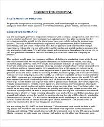 Social Media Proposal Template 13 Social Media Proposal Templates Free Word Pdf Format