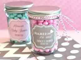 diy mason jar baby shower centerpieces personalized mini jars