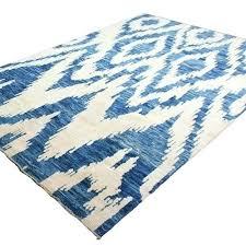 blue ikat rug blue rug hand knotted rug x ivory blue area rug blue rug safavieh