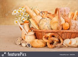 Baked Goods Fresh Bakery Products And Ingredients Stock Image