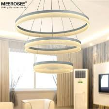 1 2 3 chandelier stunning modern circular chandelier led round chandelier modern acrylic lamp light for