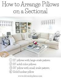 lumbar pillow sizes. Contemporary Lumbar Great Post About How To Arrange Pillows On Sofas And Sectionals Other  Great Pillow Tips Inside Lumbar Pillow Sizes P