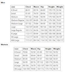 Scuba Pro Size Chart Www Bedowntowndaytona Com
