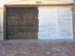 light house point garage door restoration and painting