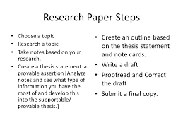 Steps for Writing a Research Paper in   Days   Edit    Editing     Steps to Writing a Research Paper