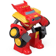 Nickelodeon Blaze And The Monster Machines Transforming Robot