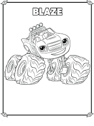 Blaze Coloring Pages To Print Nick Jr Printing Coloring Pages New