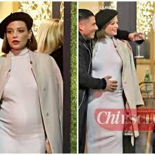 Le prime foto di Silvia Provvedi incinta con il fidanzato ...