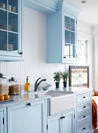 Beautiful Blue Kitchen Cabinet Ideas In Light Cabinets Designs ...