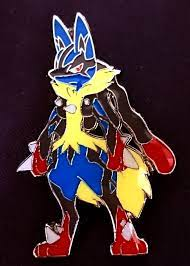 Mega Lucario Pin - Blister Exclusive - Pokemon Singles » Pokemon Pins,  Badges, & Misc items - Collector's Cache