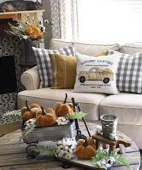 We love these floral pumpkins. 32 Fall Home Decor Ideas Inspiration For A Cozy Autumn Home