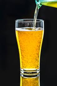 Pint Free With Clear Filled Liquid · Photo Stock Glass