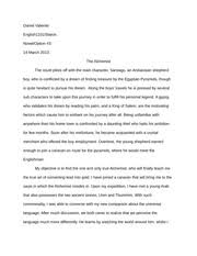 the alchemist documents course hero the alchemist creative essay