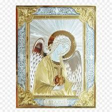 michael archangel silver icon angel