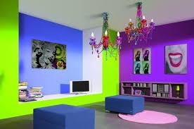 Neon room colors, modern interior decorating ideas ...
