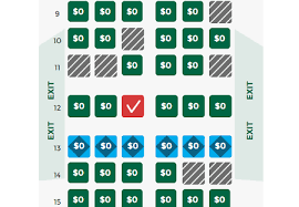 Frontier Airbus A320 Seating Chart Frontier A320 Row 12 Flyertalk Forums