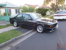 BMW Convertible 1985 bmw m635csi : BMW E24 M635CSI LOW Reserve