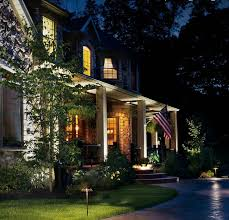 landscape lighting and residential exterior lighting systems kichler
