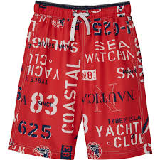 Nautica Swim Trunks Size Chart Nautica Boys Bryson Swim Trunks Boys 8 20 Apparel Shop