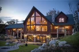 Small Picture Log Home Living The Essential Guide to Log Homes