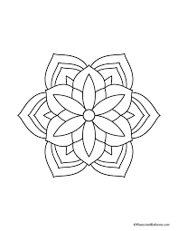 easy mandala coloring pages coloring books on amazon
