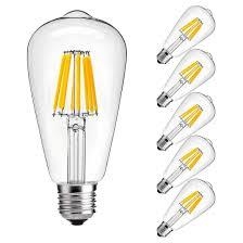 When Was Light Bulb Created Led Edison Bulbs Rolay 8w Dimmable Vintage Led Edison Light