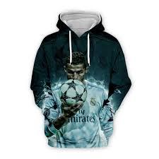 PLstar Cosmos <b>Cristiano Ronaldo</b> athletes 3D Printed Hoodie ...