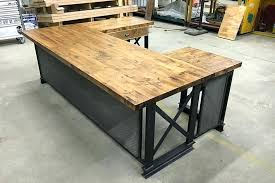 industrial style office desk. Industrial Office Desk Style