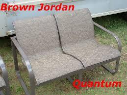 brown jordan quantum outdoor fabric sling replacements quantum woodard patio furniture