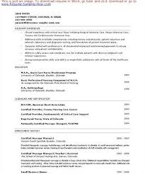 sample resume for massage therapist lafoliaeu qohewd new massage therapist resume examples