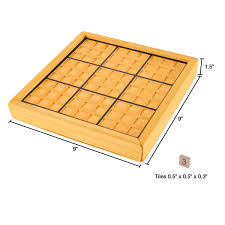Wooden Sudoku Game Board Wood Sudoku Board Game Set Complete Set With Number Tiles Wooden 68